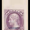 10c purple Jefferson Specimen single