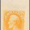 6c yellow Lincoln Specimen single