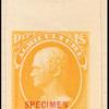 30c yellow Hamilton Specimen single