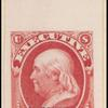 1carmine Franklin Specimen single