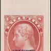 10c carmine Jefferson Specimen single