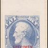 6c ultramarine Lincoln Specimen single