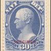 30c ultramarine Hamilton Specimen single