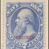 7c ultramarine Stanton Specimen single