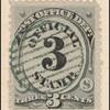 3c black numeral single