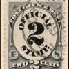 2c black numeral single