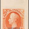 90c vermilion Perry specimen single