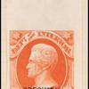 2c vermilion Jackson specimen single