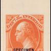 3c vermilion Washington specimen single