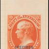 15c vermilion Webster specimen single