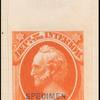24c vermilion Scott specimen single