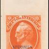 24c vermilion Scott specimen single