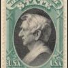 $5 green and black Seward single