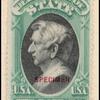 $2 green & black Seward Specimen single