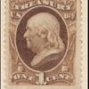 1c brown Franklin Treasury department official single
