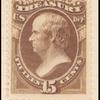 15c brown Webster Treasury department official single