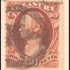 30c brown Hamilton single