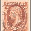 10c Jefferson brown single