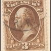 3c brown Washington Treasury department official single