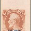 6c rose Lincoln Specimen single