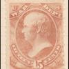 15c rose Webster War department official single