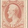 6c rose Lincoln War department official single