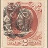 2c rose red Franklin War department official single