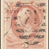 3c rose red Franklin War department official single