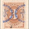 3c brown Postage Due single