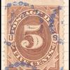 5c brown Postage Due single