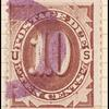 10c brown Postage Due single