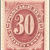 30c bright claret Postage Due single