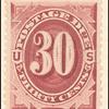 30c bright claret Postage Due single