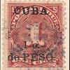 1c deep claret Postage Due single