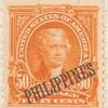 50c orange Thomas Jefferson single