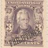 3c bright violet Andrew Jackson single