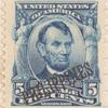 5c blue Abraham Lincoln single
