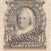 8c violet black Martha Washington single