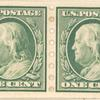 2c green Franklin pair