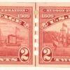 2c carmine Hudson Fulton Exposition strip of four