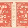 Demonstration Postage Stamp pair