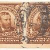 4c brown Ulysses S. Grant pair