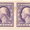 3c deep violet Washington pair