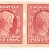2c carmine Lincoln Centenary of Birth strip of four