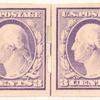 3c violet Washington pair