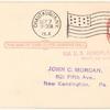 1914 Chautauqua, New York hydro-aeroplane flight postal card