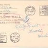 1915 Tacoma-Seattle, Washington flight stamped envelope