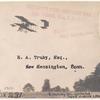 1915 Port Huron, Michigan aviation meet post card