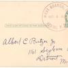 1916 West Branch, Michigan driving park aviation meet postal card