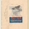 1918 aero show label on cover